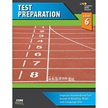 Houghton Mifflin Harcourt Steck-Vaughn Core Skills Test Preparation Workbook, Grade 6th (978054426