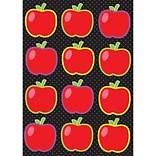 Ashley 8 1/2 x 11 Die-Cut Magnet, Apples, 12/Pack