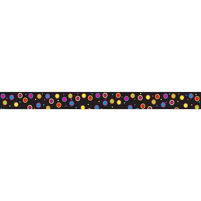 Ashley 3/4 x 12 Magnetic Magi-Strips, Color Dots, 12/Pack