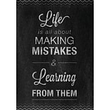 Creative Teaching Press® 13 3/8 x 19 Inspire U Poster, Mistakes