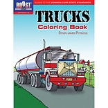 Dover® Boost™ Trucks Coloring Book