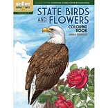 Dover® Boost™ State Birds And Flowers Coloring Book