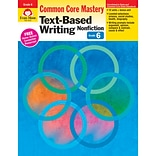 Evan-Moor® Text-Based Writing: Common Core Mastery Book, Grade 6th