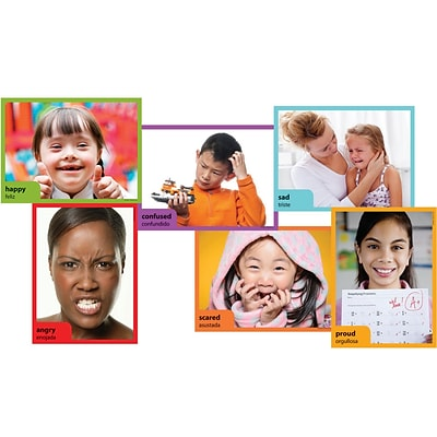 Edupress® 6 x 8 Accents, Emotions Instructional, 36/Pack