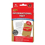 Edupress® Informational Text Reading Comprehension Practice Card, Red