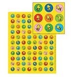 Eureka® Mini Sticker, Peanuts, 704/pack