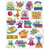 Eureka® Sparkle Sticker, Space, 22/Pack