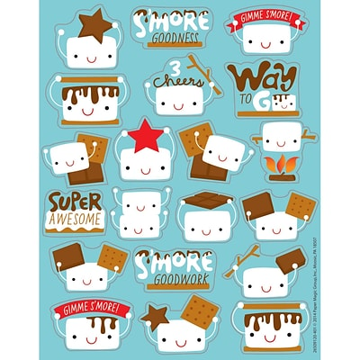 Eureka® Scented Sticker, Marshmallow, 80/Pack