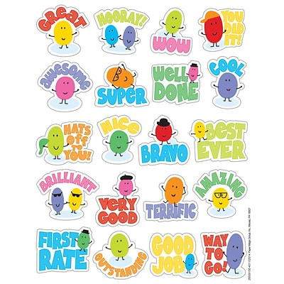 Eureka® Scented Sticker, Jelly Beans, 80/Pack