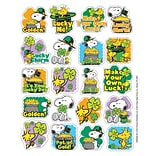 Eureka® Theme Sticker, Peanuts® St. Patricks, 120/Pack