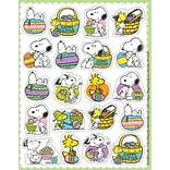 Eureka® Theme Sticker, Peanuts® Easter, 120/Pack