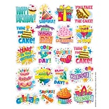 Eureka® Theme Sticker, Birthday, 120/Pack
