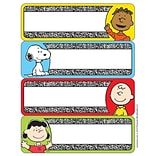Eureka® Composition Label Sticker, Peanuts, 56/Pack