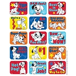 Eureka® Motivational Success Sticker, 101 Dalmatians, 120/Pack