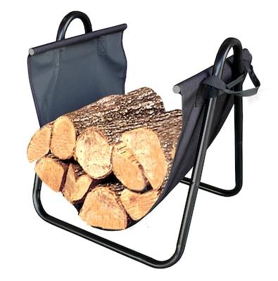 Landmann Firewood Log Holder w/ Canvas Carrier