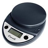 Escali Primo Digital Scale, 11 Lb 5 Kg, Black