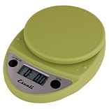 Escali Primo Digital Scale, 11 Lb 5 Kg, Terragon Green