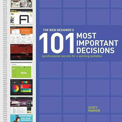 The Web Designers 101 Most Important Decisions: Professional Secrets for a Winning Website