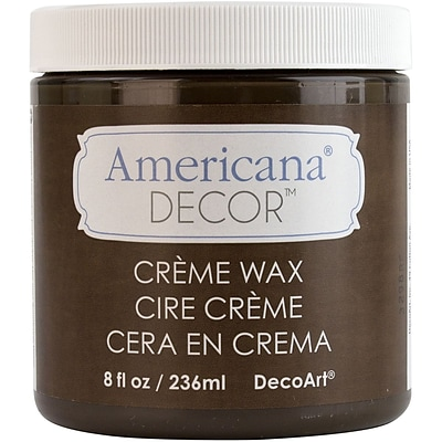 Deco Art® 4 oz. Americana Decor Creme Wax, Deep Brown