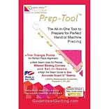 Guidelines4quilting™ Prep Tool Point Trimmer and Scant Quarter Inch Tool