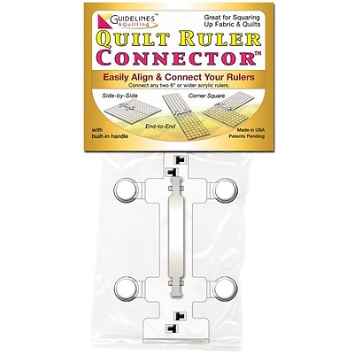 Guidelines4quilting™ Quilt Ruler Connector