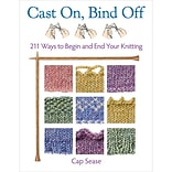 Martingale® Cast On, Bind Off - 211 Ways to Begin and End Your Knitting Paperback Book