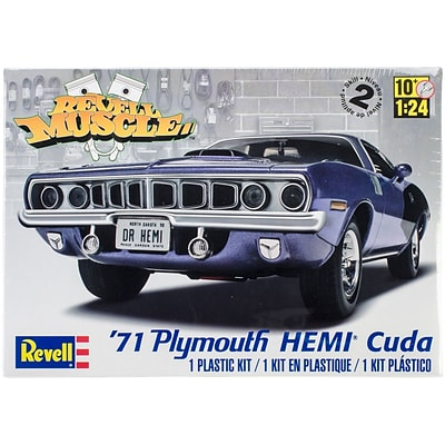 Revell® Plastic Model Kit, 71 Plymouth Hemi Cuda Hardtop 1:25
