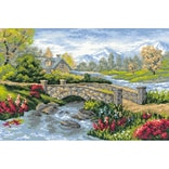 Riolis® 15 x 10 1/4 Counted Cross Stitch Kit, Summer View