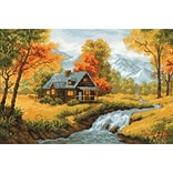Riolis® 15 x 10 1/4 Counted Cross Stitch Kit, Autumn View