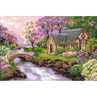 Riolis® 15 x 10 1/4 Counted Cross Stitch Kit, Spring View