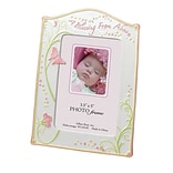 Lillian Rose™ Baby Collection 5 1/4 x 7 Baby Photo Frame, Butterfly