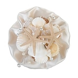Lillian Rose™ Coastal Sea Shell Wedding Bouquet