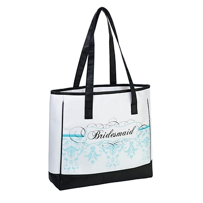Lillian Rose™ Bridesmaid Tote, Aqua