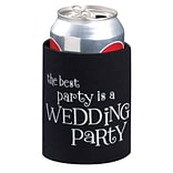 Lillian Rose™ Wedding Party Cup Cozy, Black