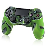 Insten® Protective Skin Case For Sony PlayStation 4 Controller, Camouflage Navy Green
