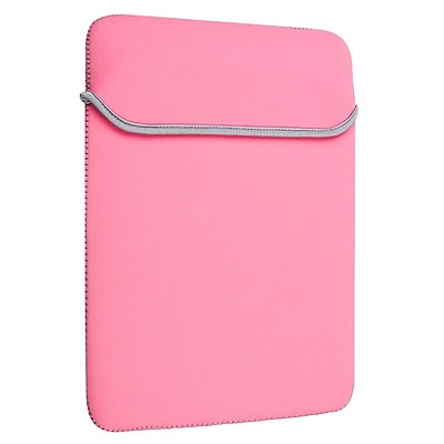 Insten® Laptop Sleeve For 13 MacBook® Pro/Air, Pink/Gray