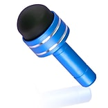 Insten® dothxxxxst32 3.5mm Headset Dust Cap With Mini Stylus For iPhone/iPod Touch; Light Blue