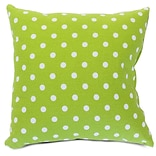 Indoor Lime Small Polka Dot Extra LG Pillow