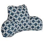 Navy Blue Indoor Links Reading Pillow