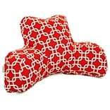 Red Indoor Links Reading Pillow