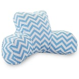 Tiffany Blue Chevron Reading Pillow