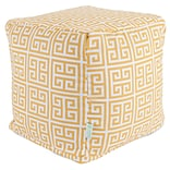 Citrus Towers Small Cube Ottoman