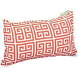 Outdoor Orange Towers Small Pillow