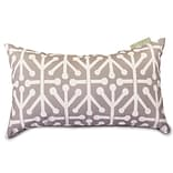 Outdoor Gray Aruba Small Pillow