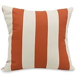 Outdoor Burnt OR Vertical Stripe LG Pillow