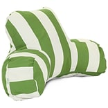 Sage Vertical Stripe Reading Pillow