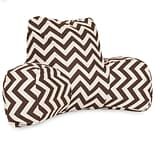 Chocolate Chevron Reading Pillow