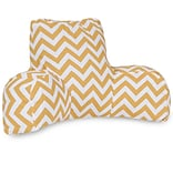 Yellow Chevron Reading Pillow