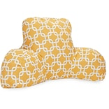 Yellow Links Reading Pillow
