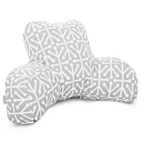 Gray Outdoor/Indoor Aruba Reading Pillow